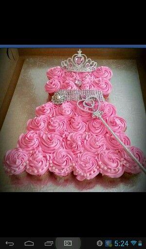 Mya next birthday cup cakes