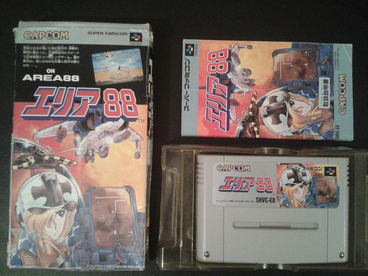 Area 88 for Super Famicom (SNES Japan)
