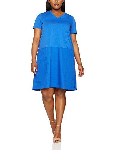 2a42129b71c42 Persona by Marina Rinaldi 1622077 Vestito Donna Blu (China Blue) 48 (taglia  produttore