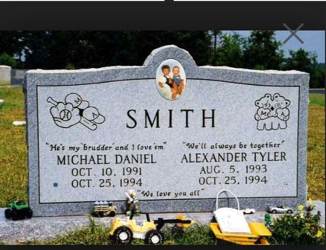 Michael and Alex Smith, killed by their mother Susan Smith