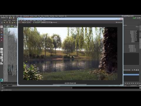 ▶ Realistic Outdoor Environments In Maya Introduction - YouTube