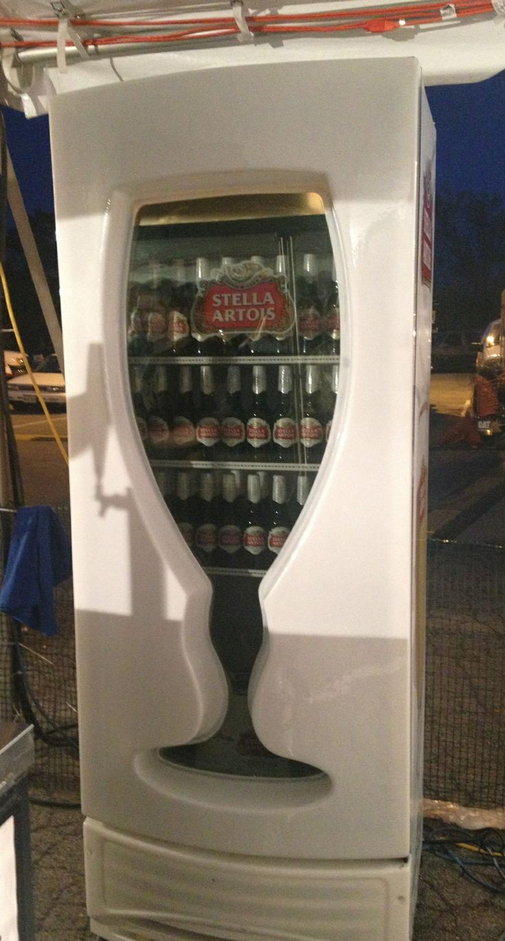 Stella Beer Fridge