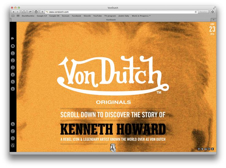 one page scroll animations / http://www.vondutch.com
