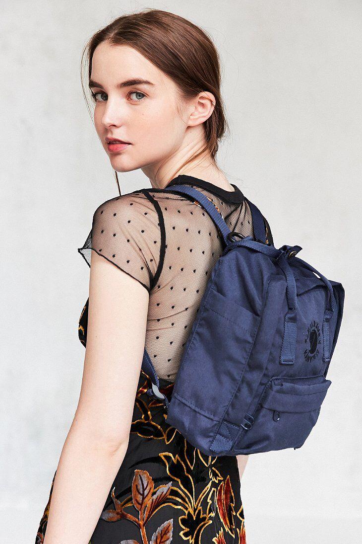 dcc222ffd505 Fjallraven Re-Kanken Mini Backpack