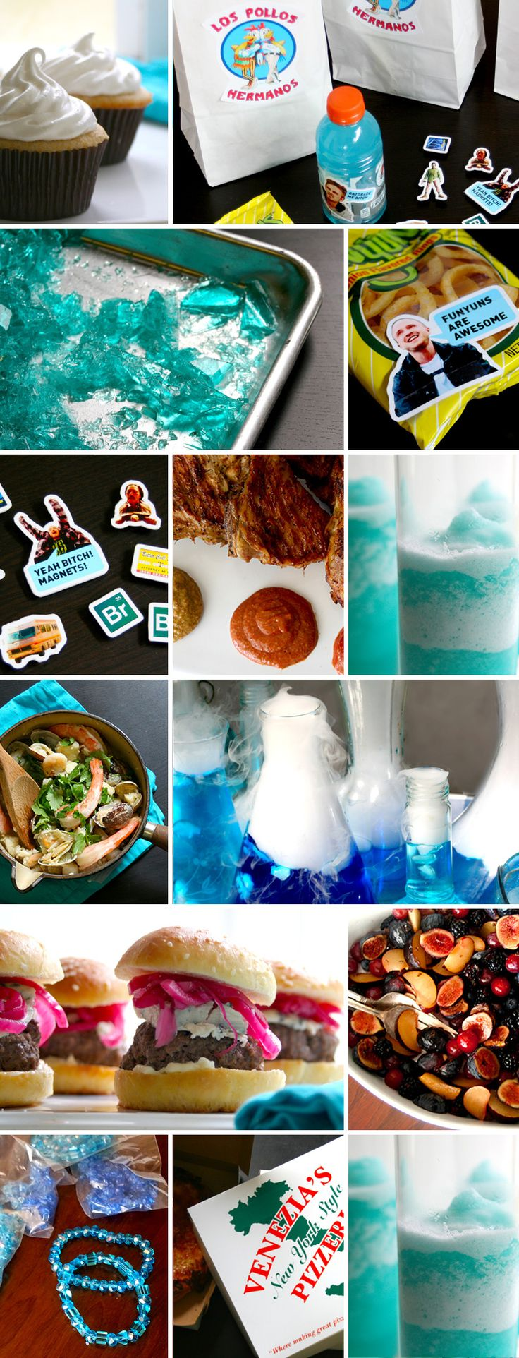 Breaking Bad Party Ideas and Menu