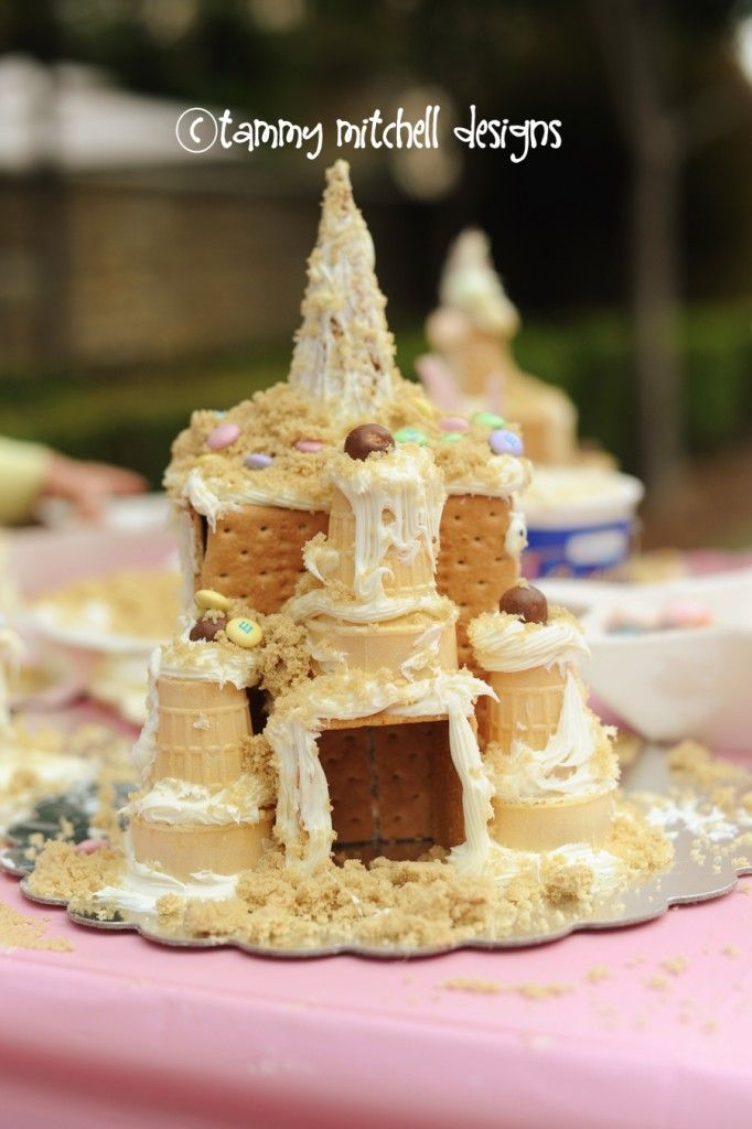 GIRL PARTIES: BEACH PARTIES: Make your own sugar sandcastle, beach party food and luau games - Pink Peppermint Design