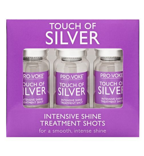 PROVOKE Touch Of Silver Intensive Shine Treatment Shots - Boots