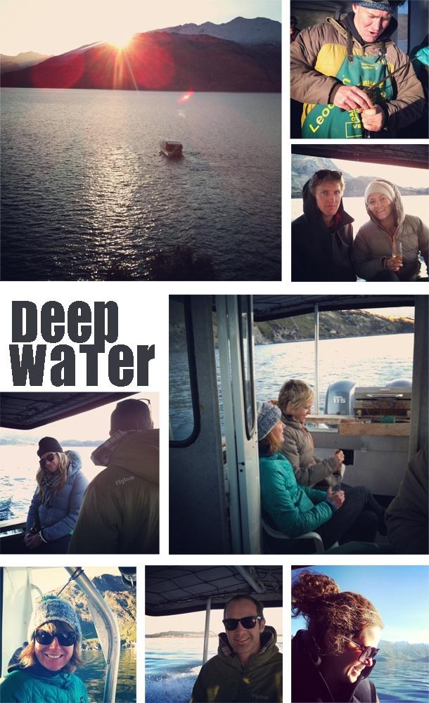 Lake Wanaka winters boat mission
