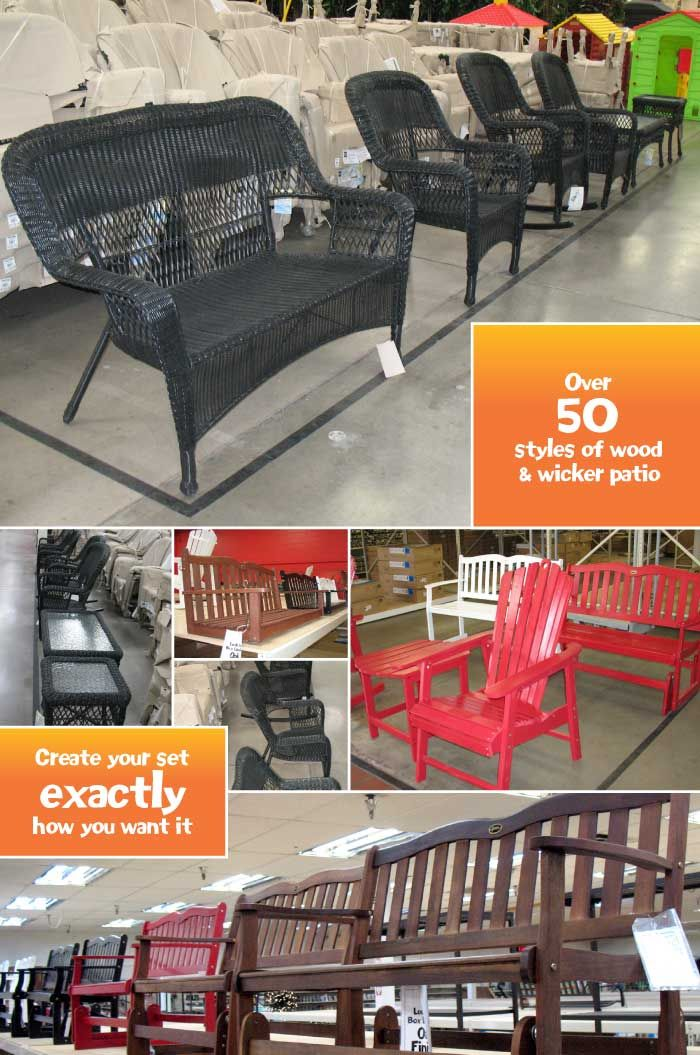 Garden Ridge's wicker furniture style - but it doesn't look this black - it's more espresso