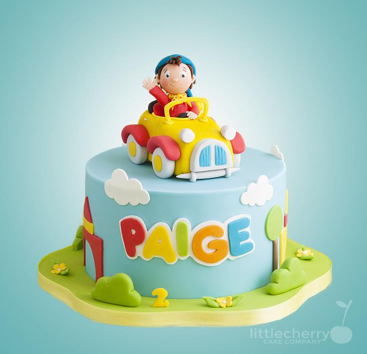 Noddy Cake - Cake by Little Cherry
