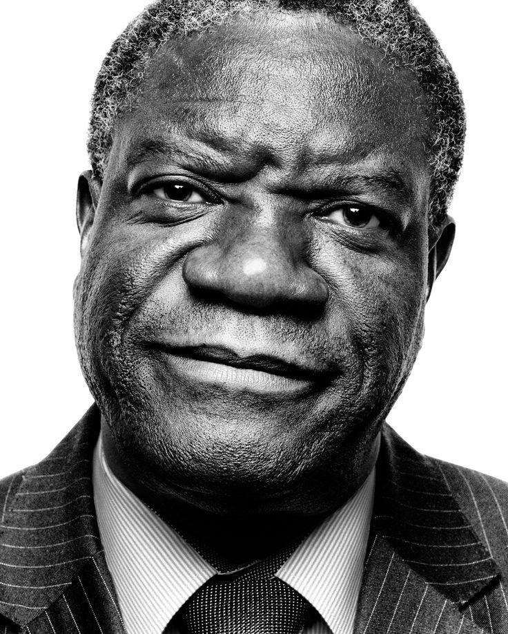 Denis Mukwege, by Platon