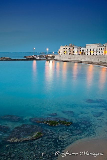 Gallipoli, Puglia, Italy...been here, and its really this beautiful