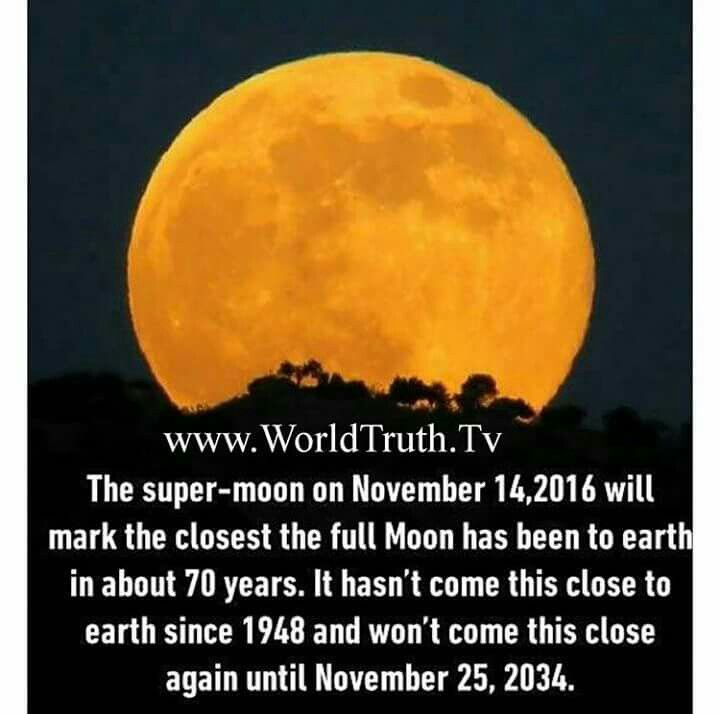 I missed seeing this and I'm so sad. I've been hearing all this stuff about the stupendous super moon AFTER the fact of it appearing. Why couldn't there be people talking about it BEFORE so that I could've seen it!