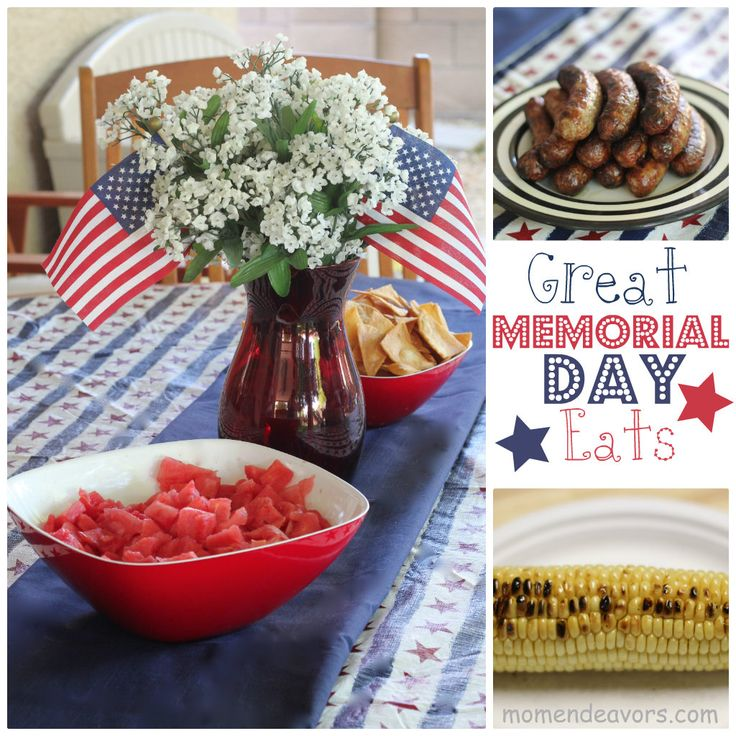 Grilled Brats & Corn on the Cob--perfect for Memorial Day & other summer events!
