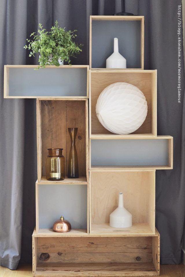 wine crates storage. DIY Mormorsglamour | DIY – pyssel – inredning | Sida 7