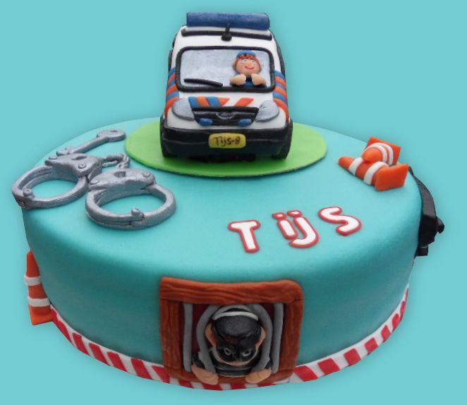 Politie taart  -  Police cake