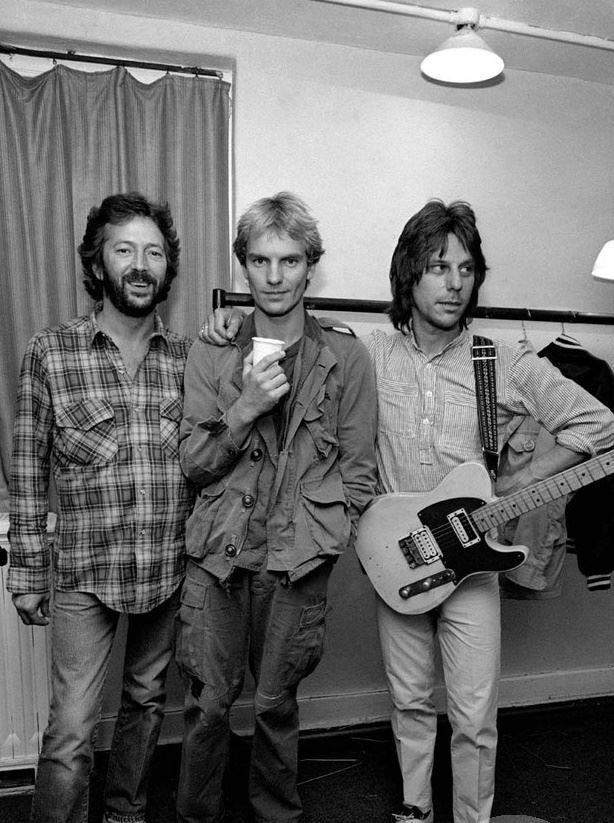 Eric Clapton, Sting And Jeff Beck