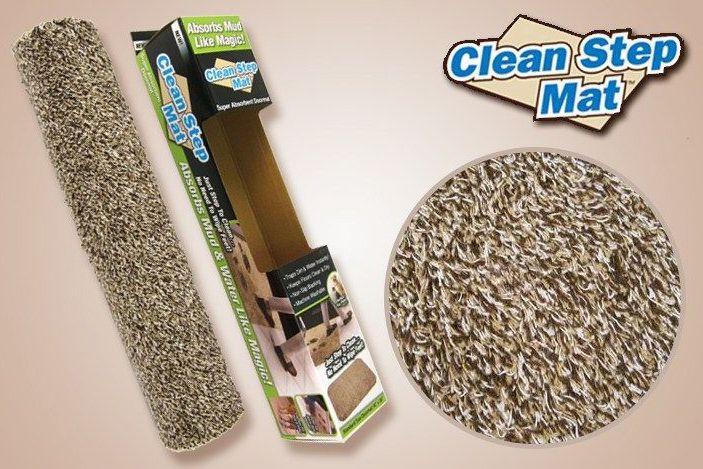 Clean Step Mat csodalábtörlő - Hogy mindig tisztaság legyen! | Lealkudtuk