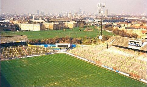 The Den home of Millwall FC.