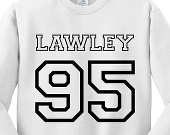White Crewneck Jersey Numbers Kian Lawley Sweatshirt Gray O2L Our Second Life Sweater Jumper Pullover