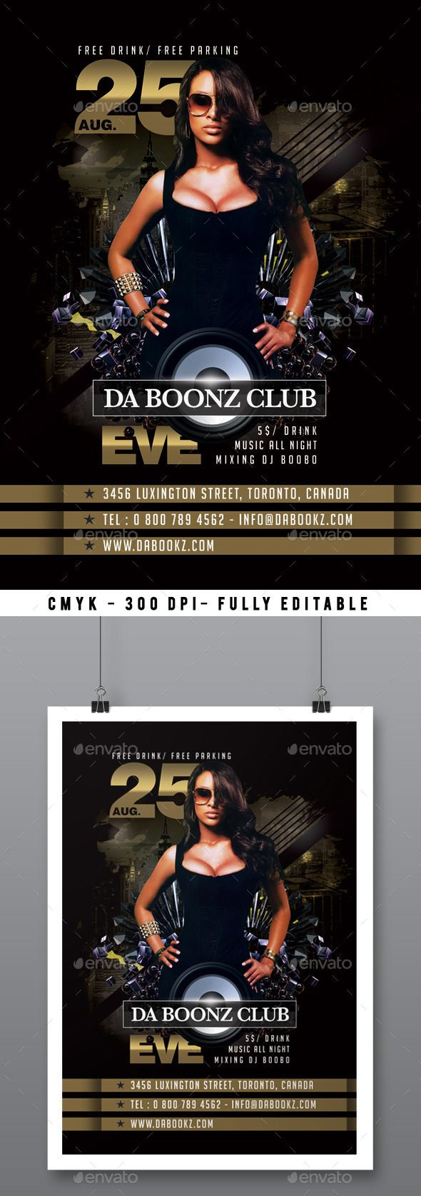 club flyer maker
