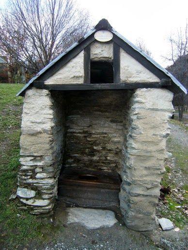 The long drop toilet