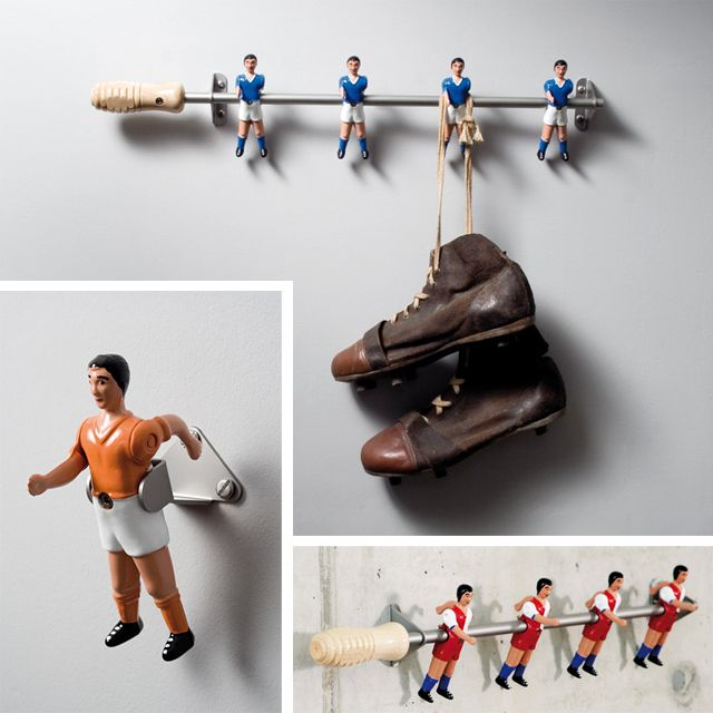 Ah! Love this! This could be hockey skates for little hockey dudes instead of football...