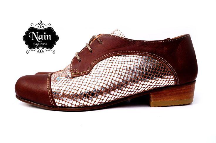 zapato modelo derbi. zapatos. cuero, color, tendencias
