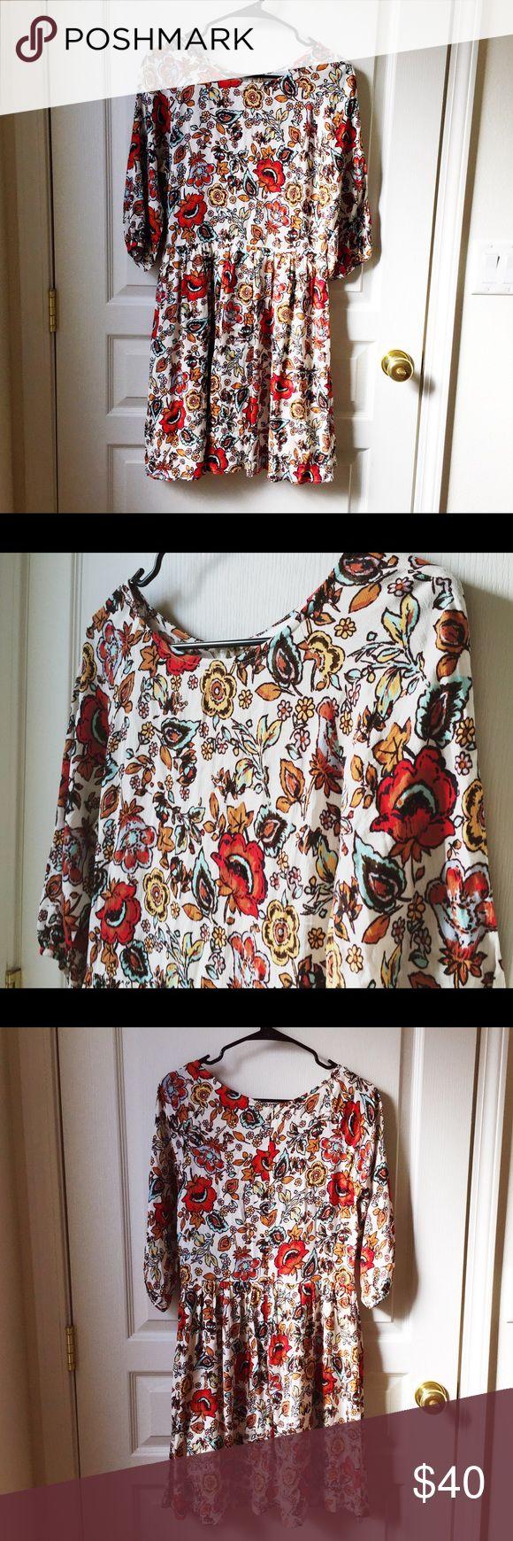 Selling this Modcloth floral boho dress NWOT on Poshmark! My username is: wanderlust83. #shopmycloset #poshmark #fashion #shopping #style #forsale #ModCloth #Dresses & Skirts