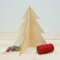 Abeto Navidad de madera, grande 3,90€ www.holamama.es