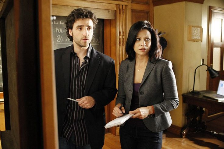 Carlie and Amita (Numb3rs)