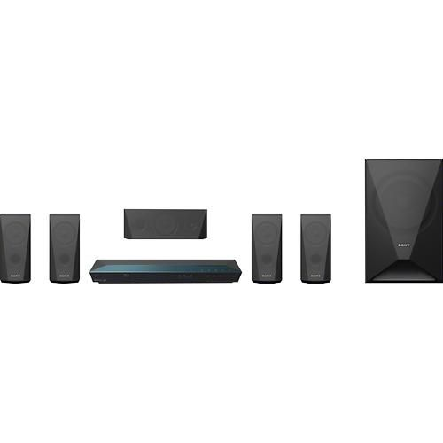 Sony - 5.1-Ch. 3D / Smart Blu-ray Home Theater System - Alternate View 1