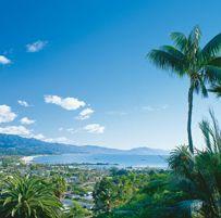 Santa Barbara, CA - kayaking and wine tasting. Best times to visit are March through May and September through November