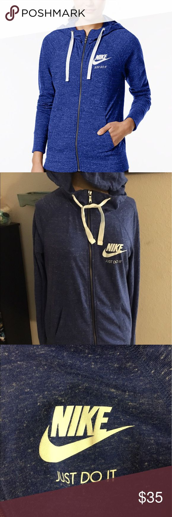 Like new! Women's Nike zip up All details in last pic. In excellent used condition, like new! Pet/smoke free home Nike Jackets & Coats