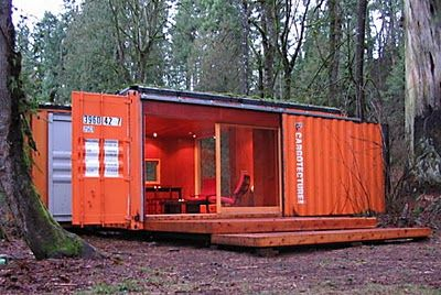 another great Container Home: Small Cabin, Idea, Tiny House, Ships Container Homes, Guest House, Costa Rica, Ships Container House, Shipping Containers, Ships Container Cabin