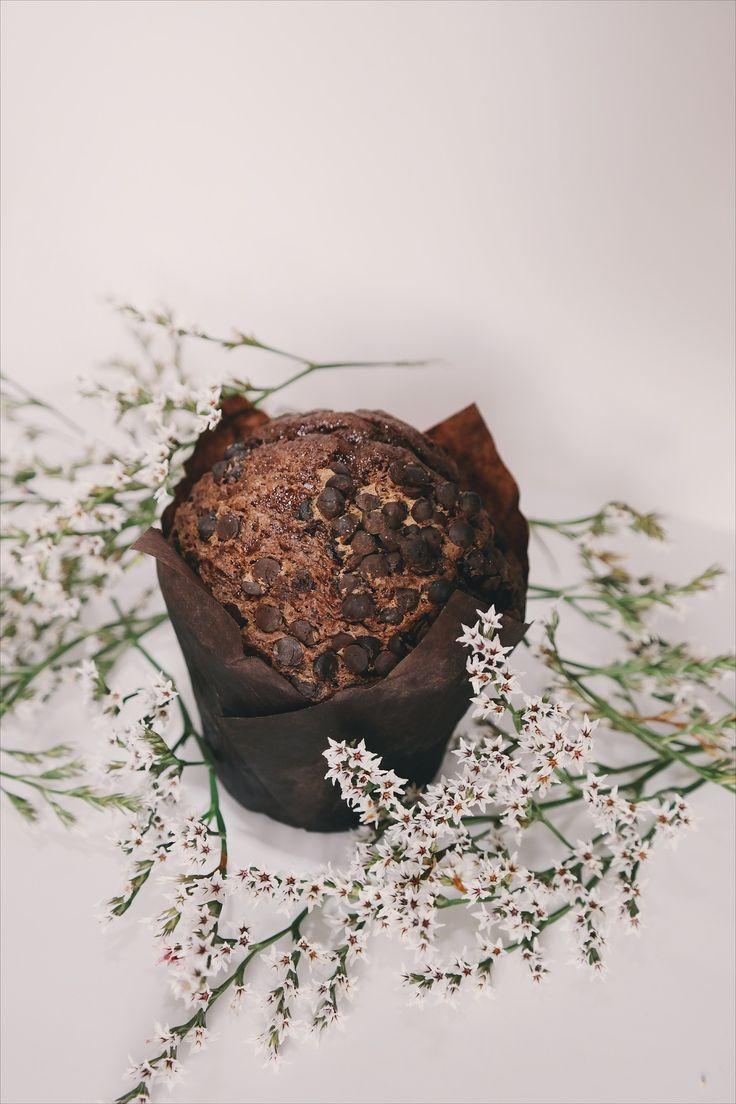 Muffinki czekoladowe - wegańskie i bezglutenowe  #przepis #muffiny #muffinki #babeczki #czekoladowe #czekolada #wegański #vege #bezglutenowe #deser
