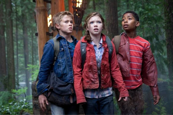 'Percy Jackson: Sea of Monsters' still: Young Luke, Annabeth, Grover