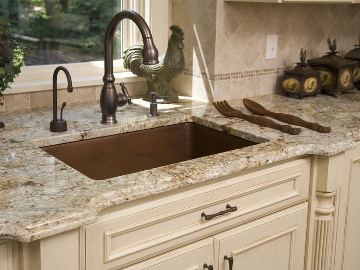 granite counters with cream colored cabinets | Your Local Kitchen Cabinets Store – Roanoke VA & Beyond