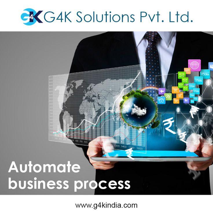 Automate business process  Platform to grow your business. Our platform, your business.  http://www.g4kindia.com #business #automation #b2b #b2c