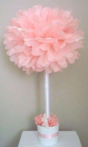 cancer survivor party decorations | Tip: Para la varilla de madera, puedes usar un pincho de madera.