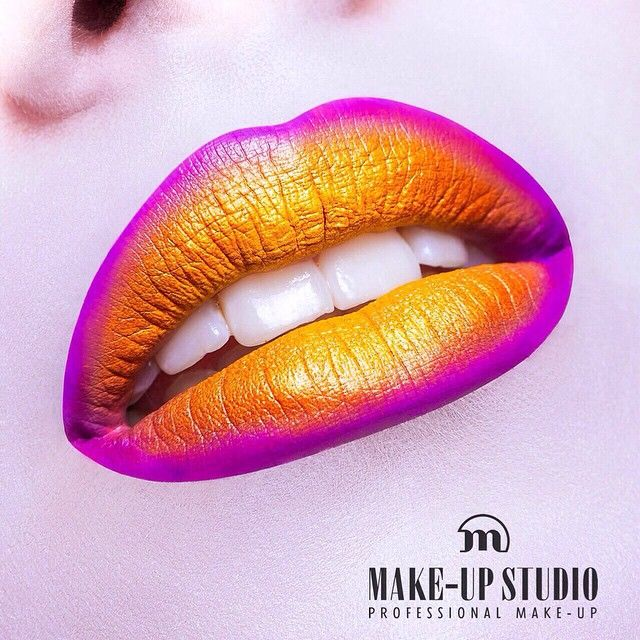 Sunshine's out! Look by our HQ MUAs in Holland :) #artofmakeup #makeupstudio #lips #lipart