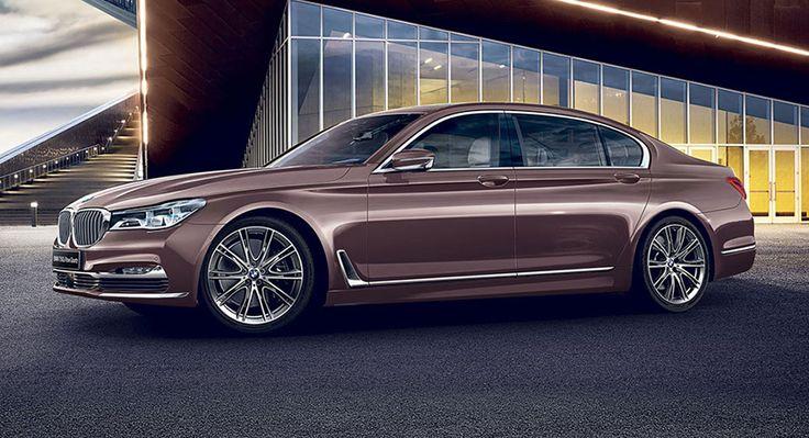 BMW Serie 7 Rose Quartz, exclusivo para Japón - http://www.actualidadmotor.com/bmw-serie-7-rose-quartz-exclusivo-para-japon/