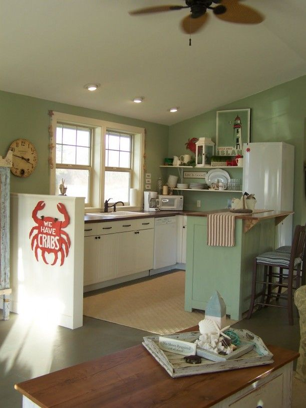 17 best ideas about beach cottage kitchens on pinterest cottage kitchen diy coastal inspired Kitchen design center virginia beach