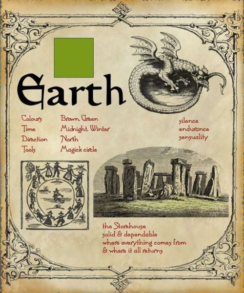 Earth magic #Gothic #Earth #Witchcraft #Magic #Elements #Pagan #Witch