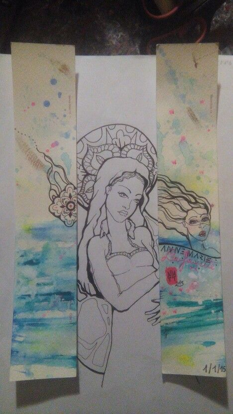 Madonna pop e sketch in progress di Anna Agati