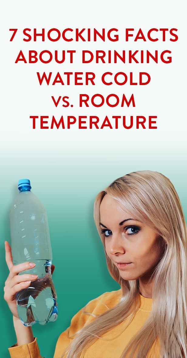 7 Shocking Facts About Drinking Water Cold Vs Room Temperature Drinking Water Shocking Facts Health Facts