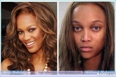 Tyra without makeup