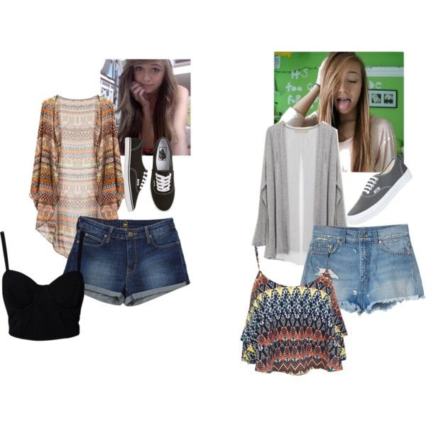 """Bri and i on a sunny day"" by nmdillon on Polyvore"