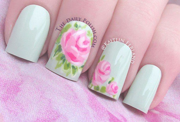 Get Inspired: Eight Pretty Spring Nail Art Ideas