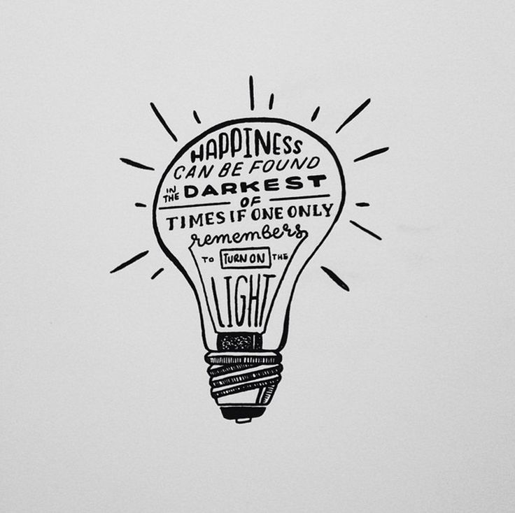 Happiness can be found in the darkest of times if one only remembers to turn on the light. -Albus Dumbledore  Harry Potter hand lettered quote